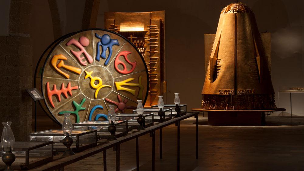istallazioni per le Orestiadi Museo Gibellina